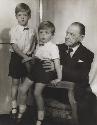 Julian John Somerset Hope, 2nd Baron Glendevon; Jonathan Charles Hope, 3rd Baron Glendevon; Somerset Maugham