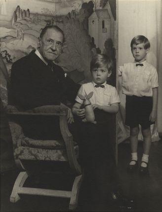 Somerset Maugham; Julian John Somerset Hope, 2nd Baron Glendevon; Jonathan Charles Hope, 3rd Baron Glendevon