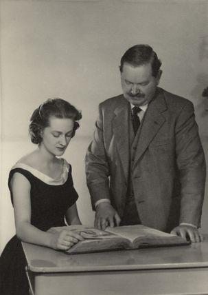 (Maria) Teresa D'Arms (née Waugh); Evelyn Waugh