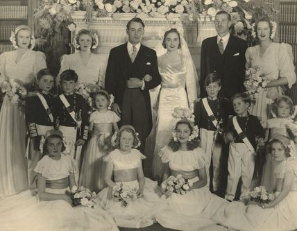 The Wedding of David Chetwode and Lady Willa Elliot-Murray-Kynynmound