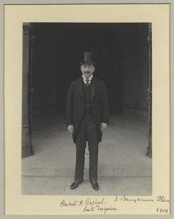 Sir Herbert Henry Raphael, 1st Bt