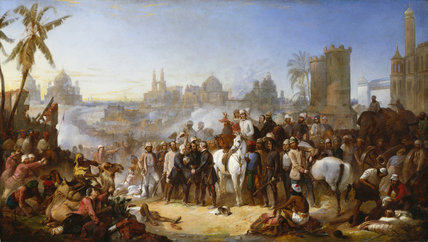 The Relief of Lucknow, 1857