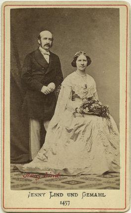 Otto Moritz David Goldschmidt; Jenny Lind