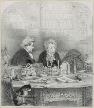 'The Ladies of Llangollen' (Sarah Ponsonby; Lady (Charlotte) Eleanor Butler)