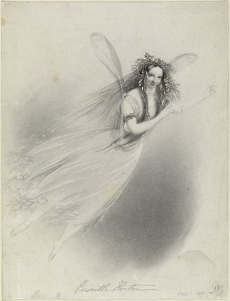 Priscilla Horton as Ariel in 'The Tempest'