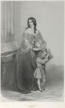 Mary Ann Holloway (née Breton); Horatio Edward Holloway