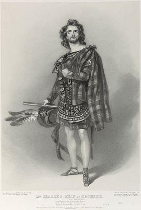 Charles John Kean as Macbeth