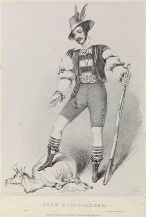 J. Wilson as Jose Speckbacher in 'Amilie'