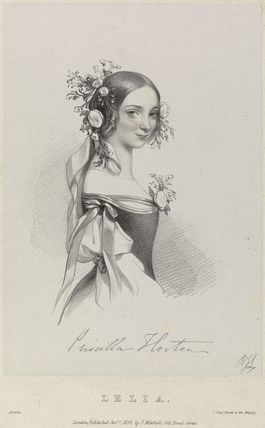 Priscilla Horton as Lelia in 'Amilie'