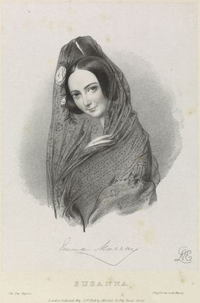 Emma Murray as Susanna in 'The Two Figaros'