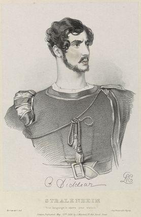 Charles Bannister Diddear as Stralenheim in 'Werner'