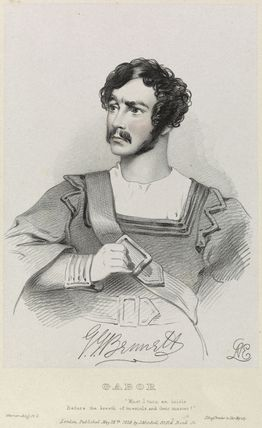 George John Bennett as Gabor in 'Werner'