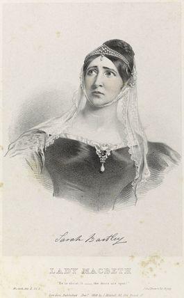 Sarah Smith as Lady Macbeth in 'Macbeth'