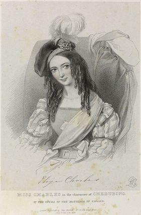 Eliza Charles as Cherubino in 'The Marriage of Figaro'