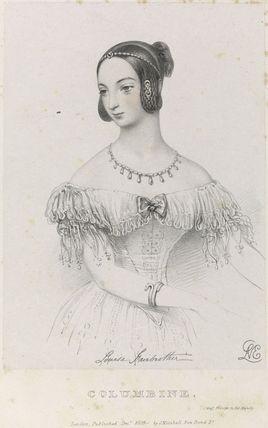 Louisa Fairbrother ('Mrs FitzGeorge') as Columbine