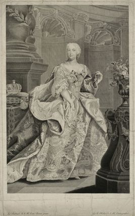 Probably Elizabeth Christine, Holy Roman Empress