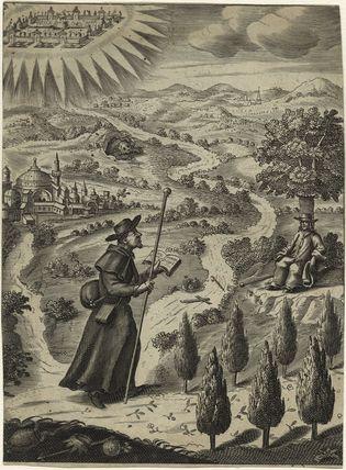 Christian, in 'Pilgrim's Progress'