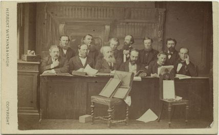 The Jury at the Tichborne Criminal Trial