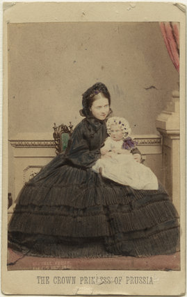 Victoria, Empress of Germany and Queen of Prussia; Princess Charlotte of Prussia, Duchess of Saxe-Meiningen