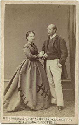 Princess Helena Augusta Victoria of Schleswig-Holstein; Prince Christian of Schleswig-Holstein