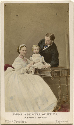 Queen Alexandra; Prince Albert Victor, Duke of Clarence and Avondale; King Edward VII