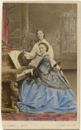 Maria Feodorovna, Empress of Russia (Princess Dagmar); Queen Alexandra