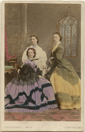 Louise, Queen of Denmark; Maria Feodorovna, Empress of Russia (Princess Dagmar); Queen Alexandra