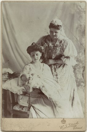 Lady May Helen Emma Abel Smith (née Cambridge); Princess Alice, Countess of Athlone; Princess Helen, Duchess of Albany