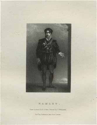 John Philip Kemble as Hamlet