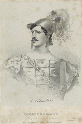 Charles Kemble as Faulconbridge in 'King John'