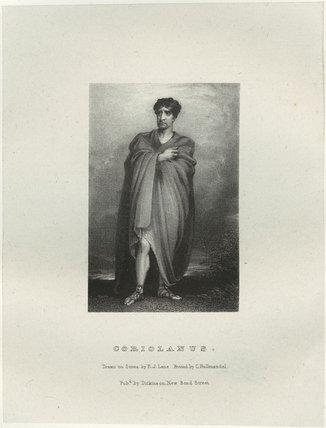 John Philip Kemble as Coriolanus