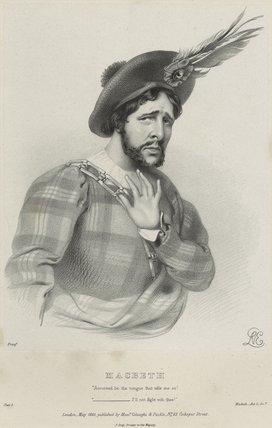 Charles Kemble as Macbeth