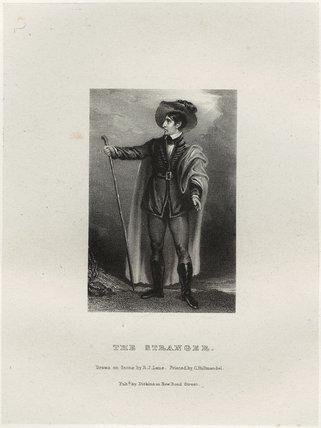 John Philip Kemble as The Stranger