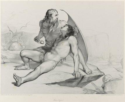Biblical or mythological scene