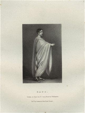 John Philip Kemble as Cato