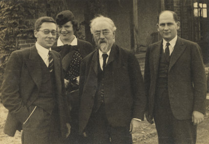 Sidney James Webb, Baron Passfield with others