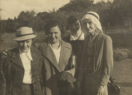 Beatrice Webb with three others