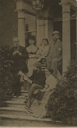 Charles Dickens with others