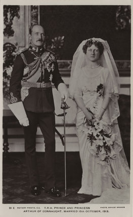 Prince Arthur of Connaught; Princess Alexandra, Princess Arthur of Connaught