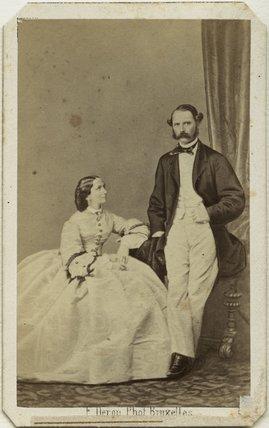 Louise, Queen of Denmark; Christian IX, King of Denmark