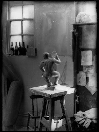 Maurice Lambert's studio ('The Cymbalist')