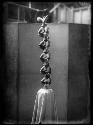 Maurice Lambert's sculpture