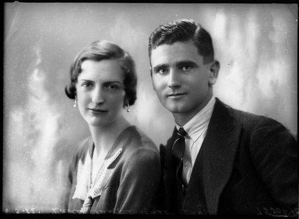 Dorothy Mary (née Durrant), Lady Clayton East Clayton; Sir Robert Alan Clayton East Clayton, 9th Bt;