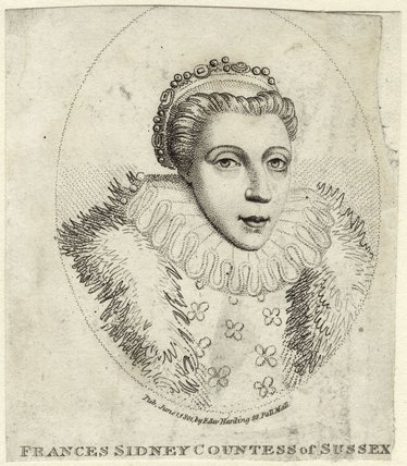 Frances Radclyffe (née Sidney), Countess of Sussex