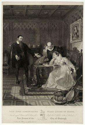 John Knox admonishing Mary Queen of Scots
