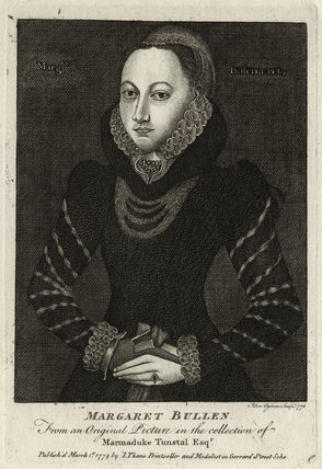 Unknown woman engraved as Margaret Boleyn (perhaps intended as Mary Stafford (née Boleyn)