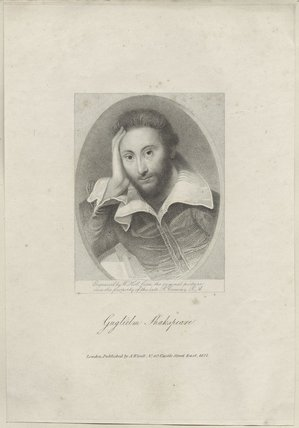 Unknown man, possibly a poet, formerly known as William Shakespeare