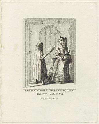 Roger Ascham; Queen Elizabeth I
