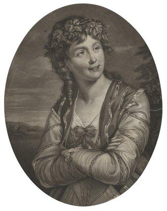 Ann Catley as Euphrosyne in Milton's 'Comus'