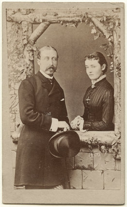 Prince Arthur, 1st Duke of Connaught and Strathearn; Princess Louise, Duchess of Connaught (née Princess of Prussia)